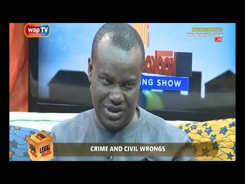 LEGAL MATTER; KNOW MORE ABOUT CIVIL WRONG