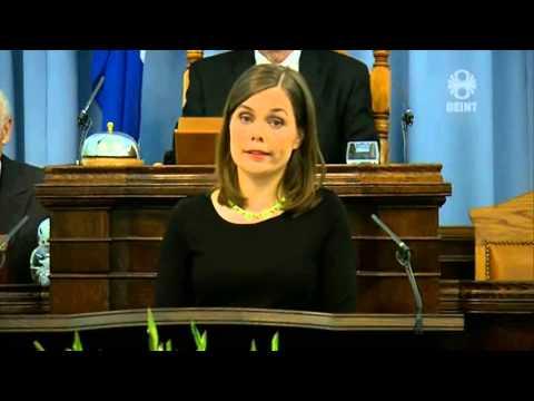 Katrín Jakobsdóttir - umræða um stefnuræðu