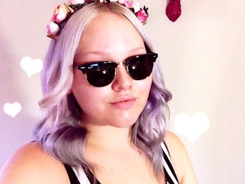 How to get Lavender, Pastel Lilac Hair ♡