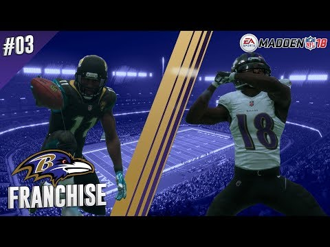 Battle For London | vs Jaguars (S1,G3) | Madden NFL 18 Baltimore Ravens Franchise Ep. 03