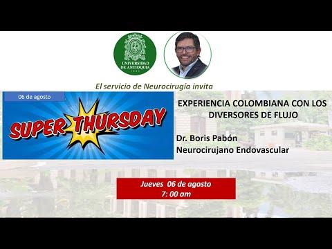 Experiencia en Colombia con derivadores de flujo. Estudio COMFORT