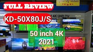 Review Android Tivi Sony KD-50X80J/S 50inch 4K, Viền Bạc New 2021. Hàng quá Chất các bác nhé