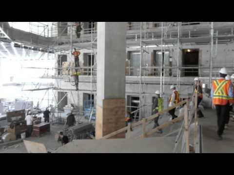 Hard Hat Tour of the Ryerson Student Learning Centre