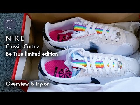 new concept df1e8 e2bf0 Nike Be True Classic Cortez Overview   Try-on