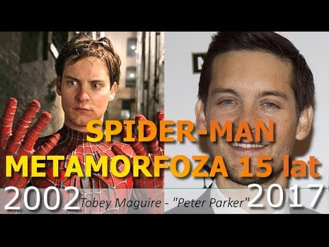 SpiderMan  Then and Now 20022017