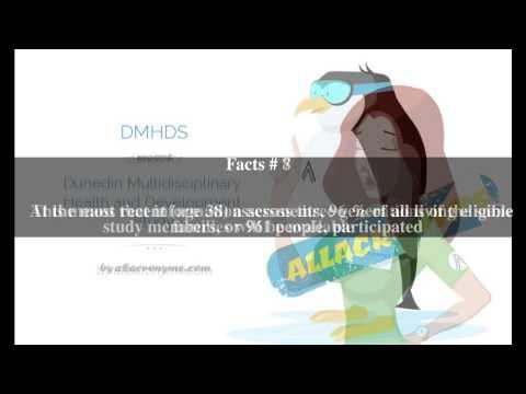 Dunedin Multidisciplinary Health and Development Study Top # 11 Facts