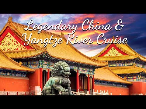 Legendary China & Yangtze River Cruise with YMT Vacations