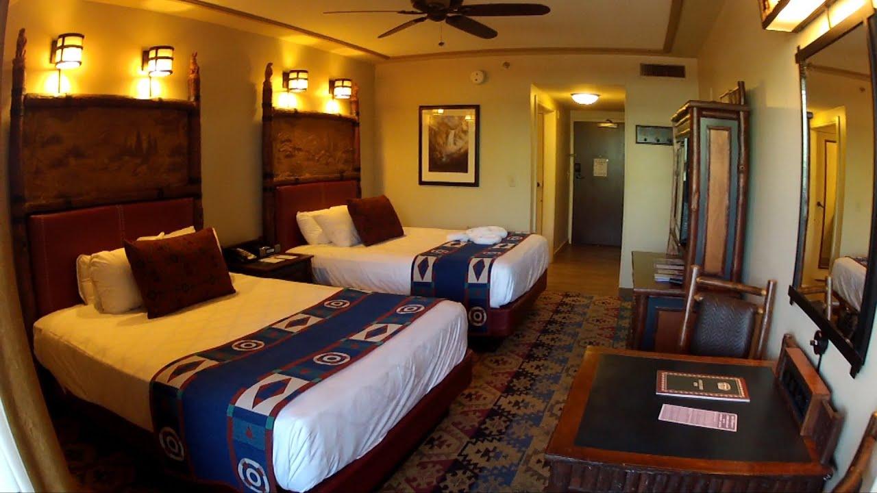 Disneys Wilderness Lodge Resort Detailed Room Tour on