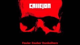 Callejon - Dunkelherz [HQ] [Lyrics]