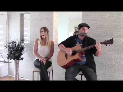 Monique Gheri and John Keenan  Never Tear us Apart  Acoustic  of INXS