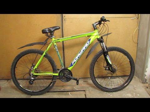 Техническое обслуживание горного велосипеда forward next 2.0