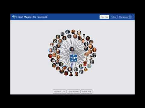 Friend Mapper for Facebook - YouTube