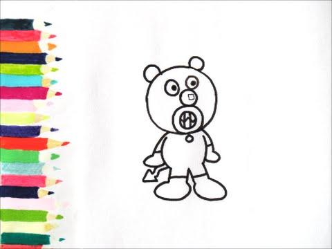 アンパンマンイラスト 描けたらうれしいあかちゃんばいきんまんの描き