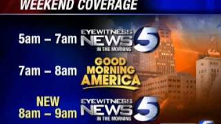 KOCO Expands Weekend Morning Coverage