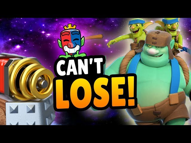 THIS DECK CAN'T LOSE! GOBLIN GIANT + SPARKY! 20 Wins CRL Deck | Clash Royale