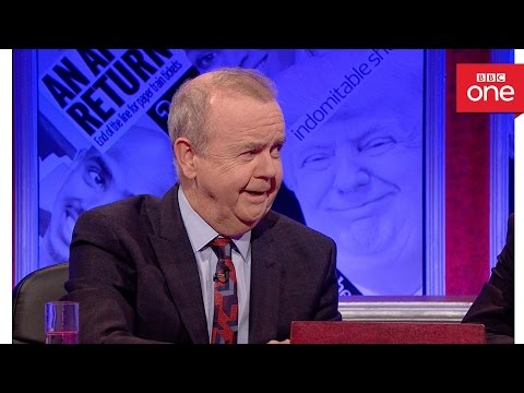 Ian Hislop and Tim Loughton fight over high court ruling - Have I Got News for You 2016 - BBC