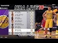 NBA LIVE 18: BIG News | Game Data, Rosters Update and Suprise Customization