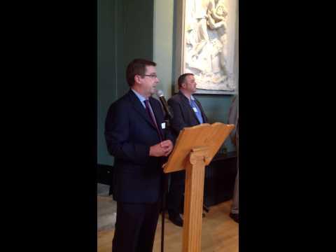 Paul Maberly speech celebrating 25 years of business in Milton Keynes
