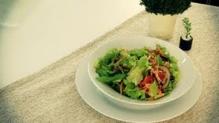 How To Prepare A Raw Vegetable Salad : Lunch On The Go