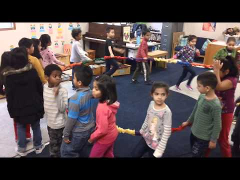 Nutcracker March Stretchy Band Activity