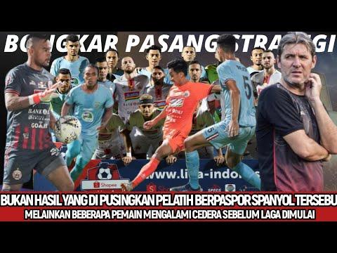 BERITA PERSIJA HARI INI - 7 Pemain Cedera, Pelatih Persija Bongkar Pasang Lagi Lawan Borneo FC