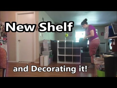 New Shelf and Decorating 9.3.19 Day 2260