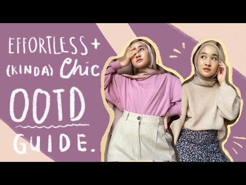 Casual OOTD ideas + tips for hijab ootd | Kiara Leswara - YouTube