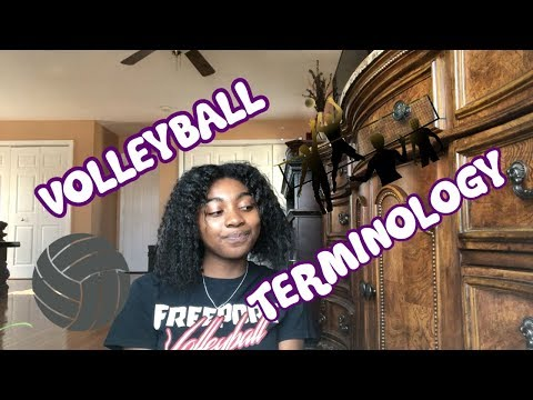 VOLLEYBALL TERMINOLOGY