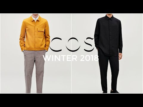 COS FALL / WINTER TRY-ON HAUL | Mens fashion | Daniel Simmons