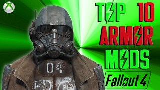 This video takes a look at the top 10 armor mods in fallout 4 so fa...