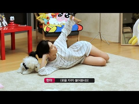 [현아의 프리먼스] HyunA Freemonth ep3-2 full HD