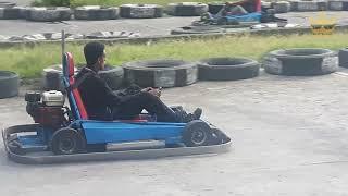 Backyard Go-kart Racing in Bishoftu (Debre Zeit), Ethiopia