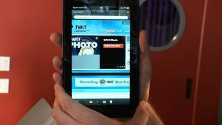 Kindle Fire Unboxing with Tom Merritt of TWiT