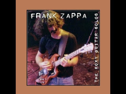 Frank Zappa The Roxy Guitar Solos Mp3