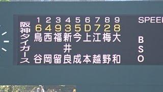 阪神vs東北楽天の練習試合を3イニングほど観戦してきました。 沖縄春季...