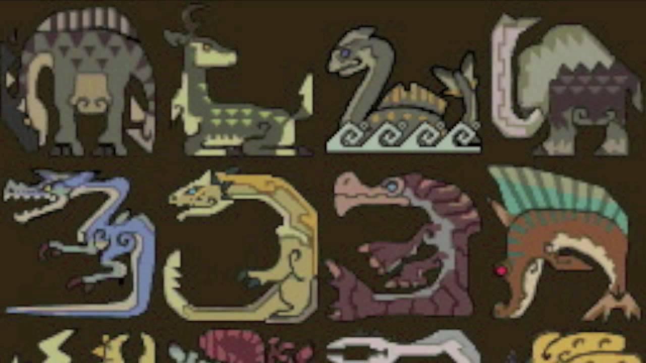 Monster Hunter 3 All Monsters Youtube
