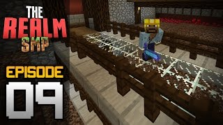 Realms Multiplayer Survival Ep. 9 - HUGE AUTOMATIC NETHER WART FARM! - Minecraft PE (Pocket Edition)