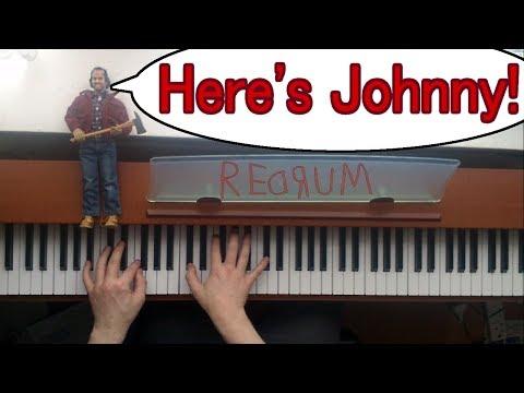 The Shining - Main Title Theme - Piano Arrangement