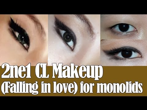 CL (Falling in Love) Makeup for Monolid eyes - 씨엘 메이크업 (KOR SUB)