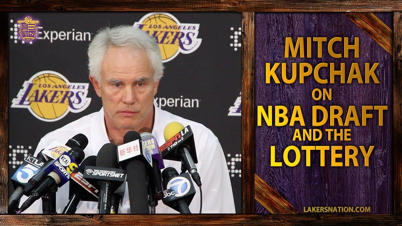 Lakers GM Mitch Kupchak NBA Draft No 1 Pick And Trading The