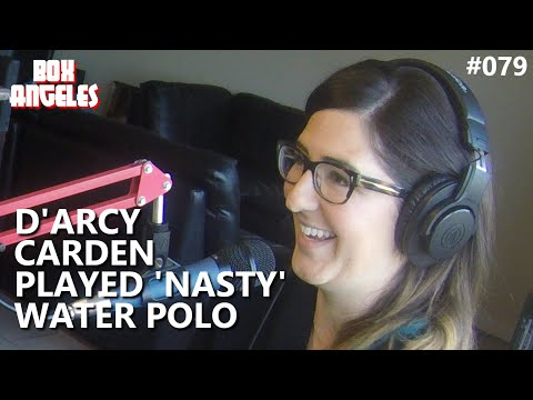 D'Arcy Carden Played Some Nasty Water Polo