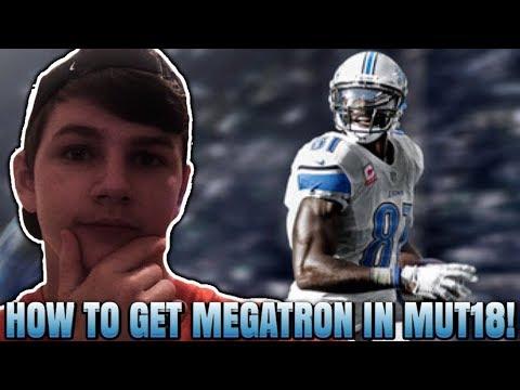 HOW TO GET CALVIN JOHNSON IN MADDEN 18! CALVIN JOHNSON CONFIRMED! | MADDEN 18 ULTIMATE TEAM