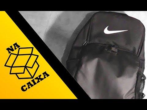 NA CAIXA #05 - BAG/MOCHILA NIKE BRASILIA XL (30 LITROS)
