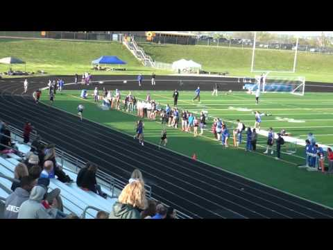 2016  omaha north girls 4x400 relay   dennis smith invite
