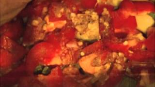 Diced chicken casserole in slow cooker