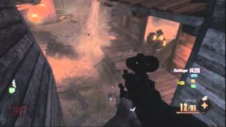 Black Ops 2 Zombies Buried: Barn Pile Up Glitch! (Invincible)