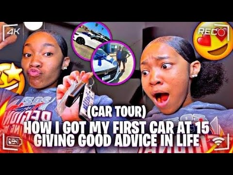 Download HOW I GOT MY FIRST CAR AT 15😱 + GIVING GOOD ADVICE IN LIFE 👏🏽