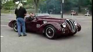 Prepping 1939 Alfa Romeo 6C 2500SS Corsa Barchetta before 07