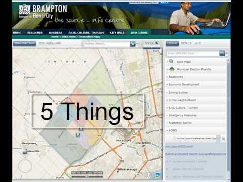 5 Fun Things to Do in the Bramptonca Map YouTube