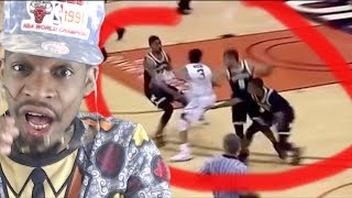 I REALLY CANT HANDLE THIS!!! BEST ANKLE BREAKERS FROM 2017-18 NCAA SEASON!